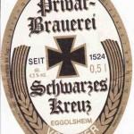 Schwarzes Kreuz/Eggolsheim: Vollbier (Nr. 310)