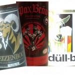 Brauerei Düll/Gnodstadt: Düll-Bock (Nr. 1132) & Brauerei Rittmayer/Hallerndorf: Weizenbock (Nr. 1133) & Pax Bräu/Oberelsbach: Pacifator (Nr. 1134)