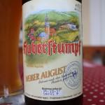 Brauerei Haberstumpf/Trebgast: Weißer August (Nr. 2022)