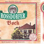 Brauerei Sauer/Rossdorf am Forst: Bock (Nr. 334)