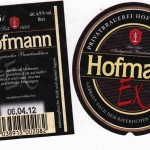 Brauerei Hofmann/Pahres: Hofmann Ex (Nr. 386)