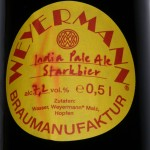 Braumanufaktur Weyermann®/Bamberg: India Pale Ale (Nr. 384)