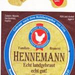 Brauerei Hennemann/Sambach: Bockbier (Nr. 390)
