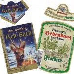 Brauerei Reh/Lohndorf: Rehbock Dunkel (Nr. 362) & Brauerei Hebendanz/Forchheim: Weihnachtsfestbier (Nr. 363)