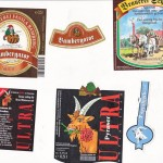 Brauerei Fässla/Bamberg: Bambergator, Pyraser/Pyras: Ultra, Brauerei Schnupp/Altdrossenfeld (†): Doppelbock (Nr.  377-379)