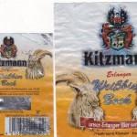 Kitzmann/Erlangen: Weißbier Bock (Nr. 388)