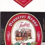 Brauerei Kraus/Hirschaid: Festbier (Nr. 352)