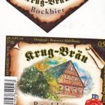 Krug Bräu/Breitenlesau: Bockbier (Nr. 404)