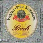 Wagner Bräu/Kemmern: Bock (Nr. 337)
