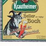 Brauerei Düll/Krautheim: Heller Bock (Nr. 407)