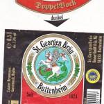 St.Georgen Bräu/Buttenheim: Doppelbock dunkel (Nr. 406)