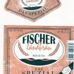 Brauerei Fischer/Wieseth: Spezial (Nr. 405)