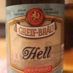 Brauerei Greif/Forchheim: Hell alkoholfrei (Nr. 2069)
