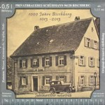 Brauerei Sonne/Bischberg: 1013 Bischberger Jubelbier (Nr. 1125)